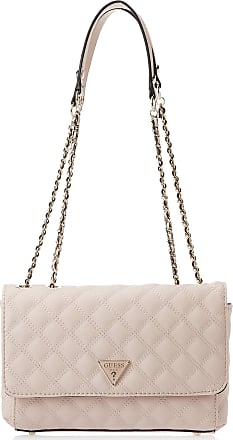 Guess Womens Cessily Convertible Crossbody Flap, Nude, One Size