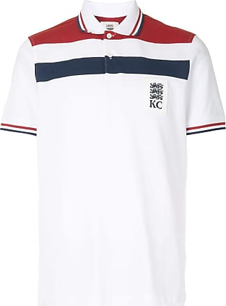 Kent & Curwen short sleeve block color polo shirt - White