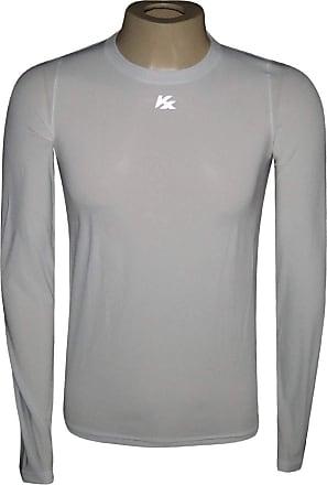 Kanxa Camisa Alta Compressão Manga Longa Branca - Kanxa