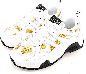 Versace Women Baroque Sneakers Bianco 6 UK
