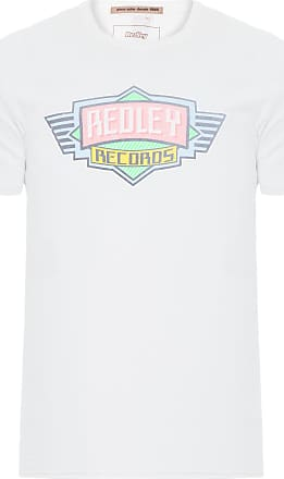 Redley T-SHIRT MASCULINA LOGO RECORDS - OFF WHITE