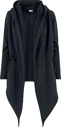 Urban Classics Ladies Hooded Sweat Cardigan - Cardigan - schwarz