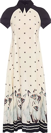 Undercover Dress With Collar Womens Cream