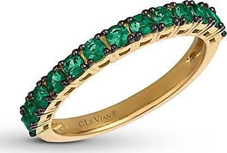 Le Vian Natural Emerald Ring 14K Honey Gold