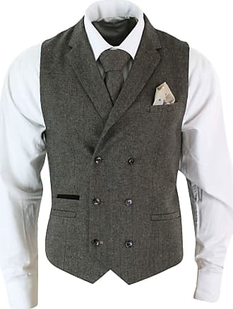 Women Tweed Herringbone Cream Black Tailored Fit Peaky Blinders Classic Blazer