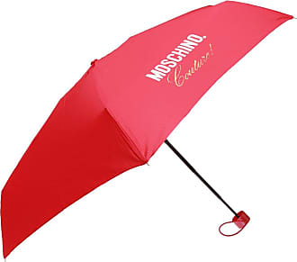 Moschino Patterned Umbrella Womens Red