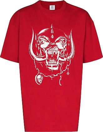 VETEMENTS Camiseta X Motörhead World Tour - Vermelho