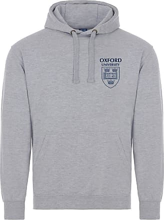 Oxford University Pocket Shield Hoodie - Sports Grey - XL