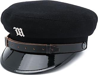 Misbhv logo plaque baker boy hat - Preto