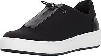 Donald J Pliner Womens Camo-D Sneaker, Black Crepe, 7.5 Medium US