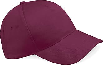 Beechfield Unisex Ultimate 5 Panel Cap Baseball, Red (Burgundy), One Size