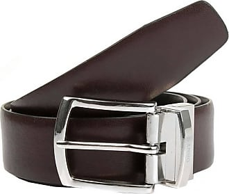 Dents Mens Reversible Classic Leather Belt - Brown/Black - Extra Large