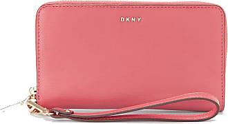 DKNY Bryant Wristlet Pink, Medium