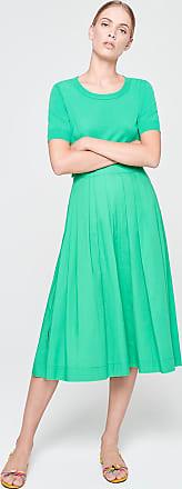 Escada Sport Cotton Pleated Skirt