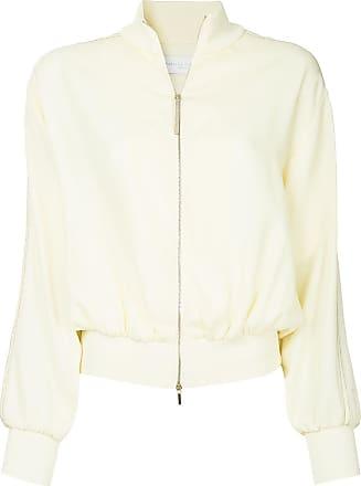 Fabiana Filippi zipped bomber jacket - Yellow