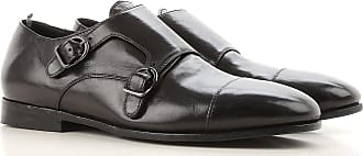 Officine Creative Monk Strap Shoes for Men On Sale in Outlet, Black, Leather, 2017, 7.5