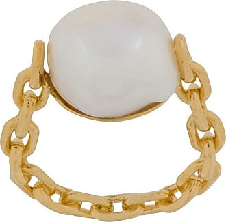 Wouters & Hendrix chain pearl ring - GOLD
