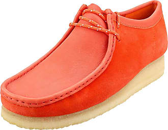Clarks Wallabee Mens Wallabee Shoes in Red - 11 UK