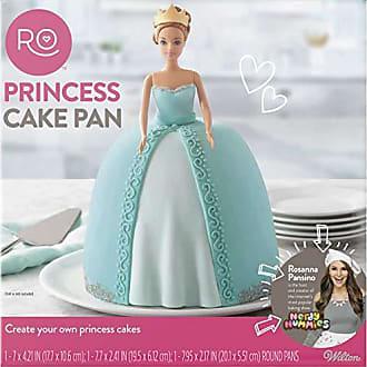 Wilton ROSANNA PANSINO by Wilton 3-Piece Princess Cake Pan Set