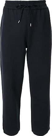 James Perse drawstring waist trousers - Blue