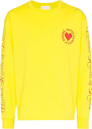 Koché Blusa mangas longas United Heart - Amarelo