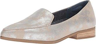 Dr. Scholls Womens Elegant Loafer Flat, Palomino/Silver Splatter, 7 M US