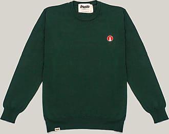 Brava Fabrics Mens Sweater - Mens Casual Sweater - Sweater for Men - Model Lama Lama Forest