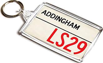 ILoveGifts KEYRING - Addingham LS29 - UK Postcode Place Gift