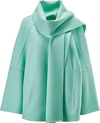 Madeleine Poncho-Jacke in Doubleface-Qualität Damen mint / grün