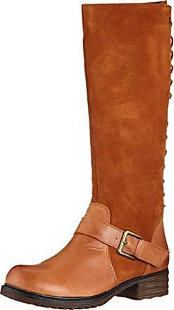 ac8d54aacb8699 Hush Puppies Damen Pomeranian High Boot Hohe Stiefel Braun (Tan 000) 39 EU
