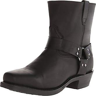 Dingo Mens Rev Up Western Shoe,Black,10.5 EW US