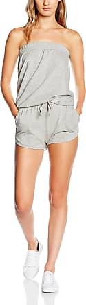 Urban Classics Womens Ladies Hot Jumpsuit, Grey (Grey 111), XL