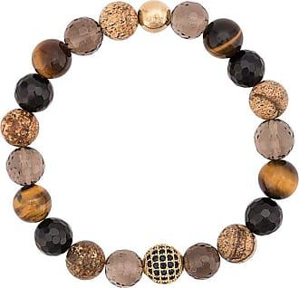 Nialaya multi-stone bracelet - Brown