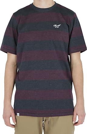 Reell Striped Short Sleeve, Navy / Cardinal Red S Artikel-Nr.1301-018 - 03-006