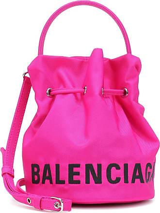 Balenciaga Wheel XS nylon bucket bag