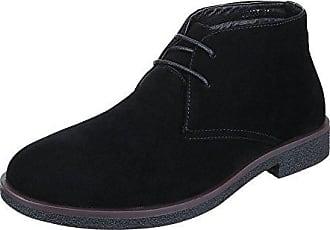 Ital-Design Stiefeletten Herren Schuhe Desert Boots Blockabsatz Moderne  Schnürsenkel Boots Schwarz, Gr 43 586d5596a9