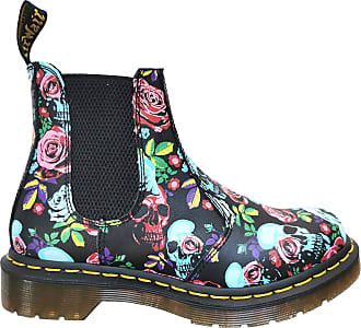 Dr. Martens 2976 Womens Boots, Rose Fantasy-Backhand Straw Grain, 24943102, 4 UK
