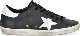 Golden Goose Superstar sneakers in black calf leather