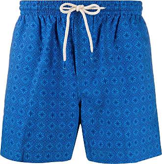 Peninsula Short de natação com estampa Il Toro tile - Azul