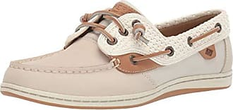 Sperry Top-Sider Sperry Top-Sider Womens Songfish Boat Shoe, Ivory, 6.5 M US