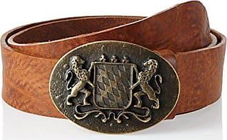 Werner Trachten Unisex G/ürtel Trachteng/ürtel 95 cm Gr Braun Rugato Braun 565