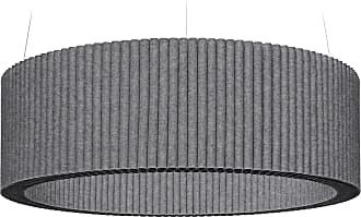 Hey-Sign Welle Deckenobjekt L Ø120cm - anthrazit/Filz in 3mm Stärke/höhenverstellbar/inkl. Aufhängevorrichtung