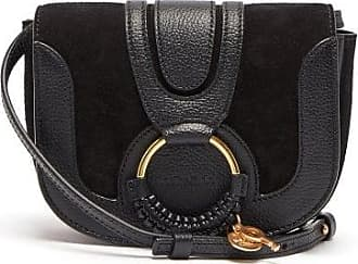 See By Chloé Hana Mini Leather And Suede Cross-body Bag - Womens - Black