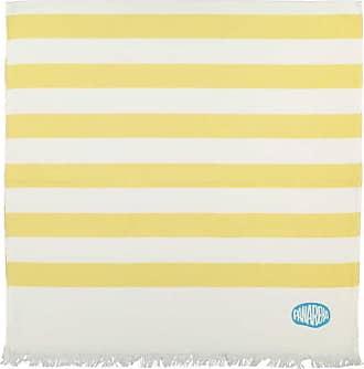 Panareha SEAGULL striped beach towel yellow