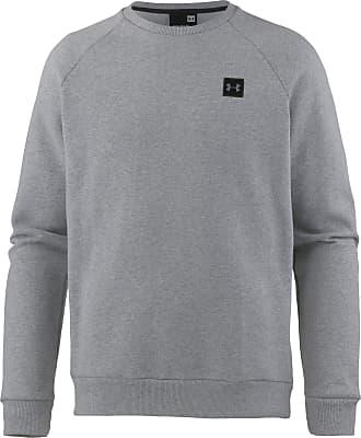Under Armour Coldgear Rival Fleece Sweatshirt Herren in steel-light-heather-black, Größe XL