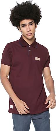 Ecko Camisa Polo Ecko Fash Basic Vinho