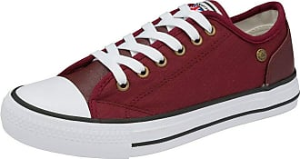 Dunlop Womens Brookland Casual Lace Up Sneakers Pumps