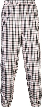 Opening Ceremony plaid track pants - Rosa