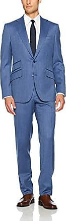 Robert Graham Mens Penbro Modern Fit 2 Button Notch Lapel Side Vent Suit