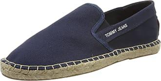 Tommy Jeans Hilfiger Denim TOMMY JEANS FLAG ESPADRILLE, Mens Espadrilles, Grey (Ink 006), 9 UK (43 EU)